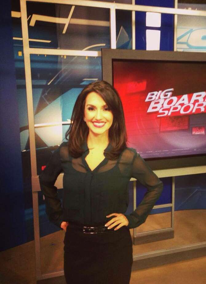 Anchorwoman's shorter look. Photo: Courtesy