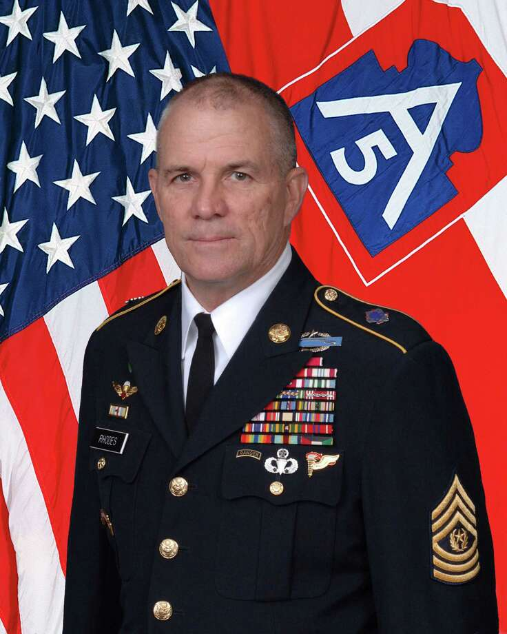 Command Sgt. Maj. Hu Rhodes is the senior enlisted leader for U.S. Army North (5th Army), Fort Sam Houston and Camp Bullis. Photo: Courtesy