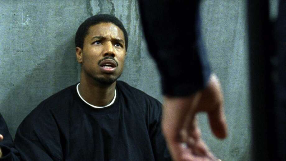 "This film publicity image released by The Weinstein Company shows Michael B. Jordan in a scene from ""Fruitvale Station.""    (AP Photo/The Weinstein Company, Ron Koeberer) Photo: Ron Koeberer, Associated Press"