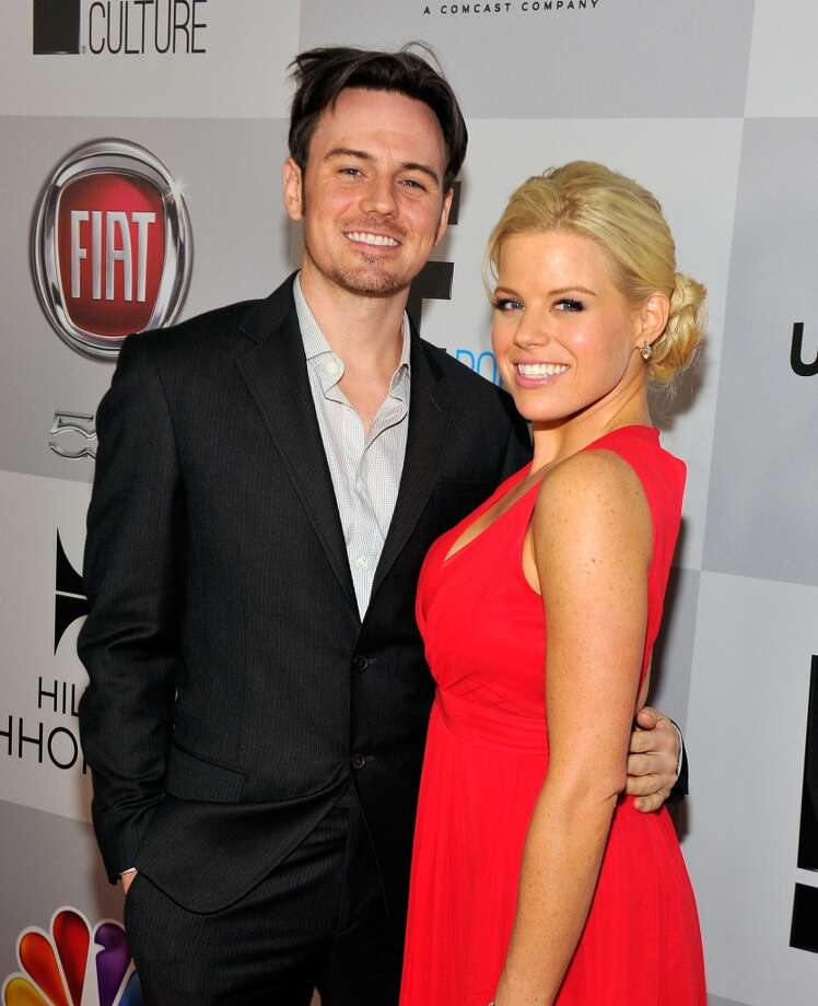 Actress Megan Hilty and Brian Gallagher married on November 2, 2013 in Las Vegas, Nevada. Photo: Jerod Harris, Getty Images For NBCUniversal