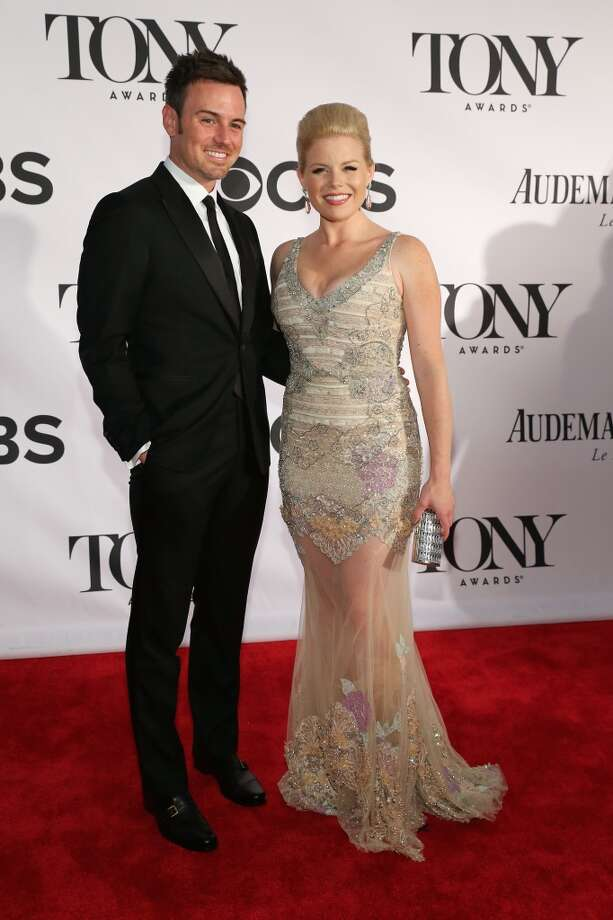 Megan Hilty and Brian Gallagher Photo: Neilson Barnard, Getty Images