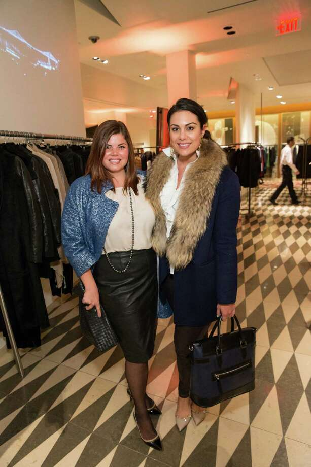 Laura Lubin and Libby Leffler at Barneys New York in San Francisco to honor artist Leo Villareal and The Bay Lights on November 7, 2013. Photo: Drew Altizer Photography/SFWIRE, Drew Altizer Photography / ©2013 by Drew Altizer, all rights reserved