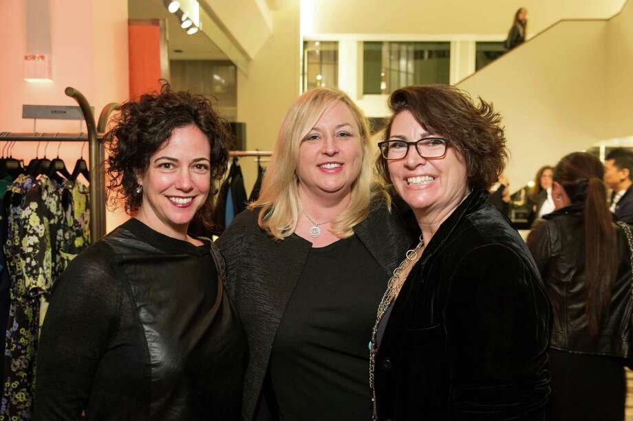 Jenny Sucov, Melanie Cornwell and Amy Critchett at Barneys New York in San Francisco to honor artist Leo Villareal and The Bay Lights on November 7, 2013. Photo: Drew Altizer Photography/SFWIRE, Drew Altizer Photography / ©2013 by Drew Altizer, all rights reserved