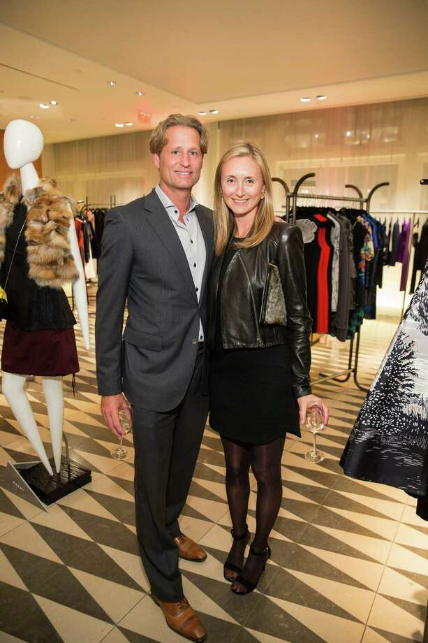 Max Armour and Louise Armour at Barneys New York in San Francisco to honor artist Leo Villareal and The Bay Lights on November 7, 2013. Photo: Drew Altizer Photography/SFWIRE, Drew Altizer Photography / ©2013 By Drew Altizer all rights reserved