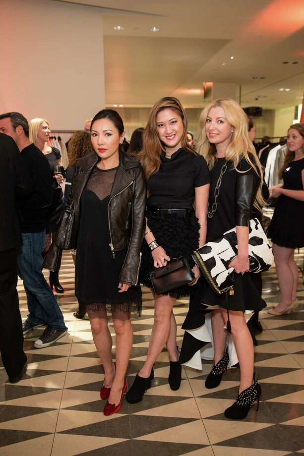 Rokelle Sun, Jessica Hon and Sonya Molodetskaya at Barneys New York in San Francisco to honor artist Leo Villareal and The Bay Lights on November 7, 2013. Photo: Drew Altizer Photography/SFWIRE, Drew Altizer Photography / ©2013 By Drew Altizer all rights reserved