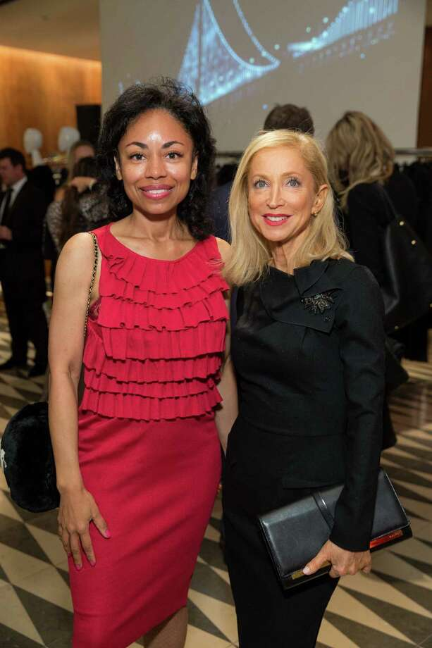 Tanya Powell and Shelley Gordon at Barneys New York in San Francisco to honor artist Leo Villareal and The Bay Lights on November 7, 2013. Photo: Drew Altizer Photography/SFWIRE, Drew Altizer Photography / ©2013 By Drew Altizer all rights reserved