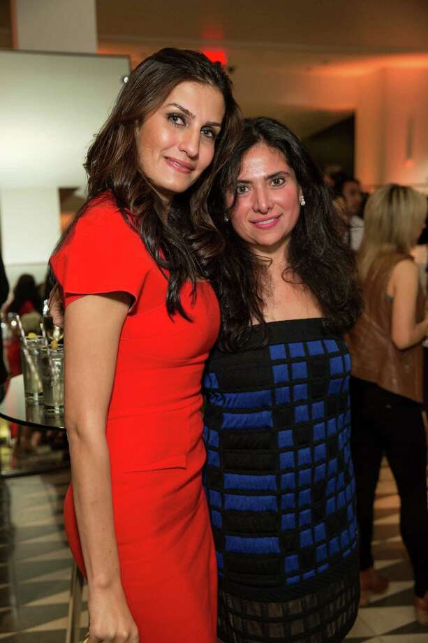 Leyla Alhosseini and Minal Jethmal at Barneys New York in San Francisco to honor artist Leo Villareal and The Bay Lights on November 7, 2013. Photo: Drew Altizer Photography/SFWIRE, Drew Altizer Photography / ©2013 By Drew Altizer all rights reserved