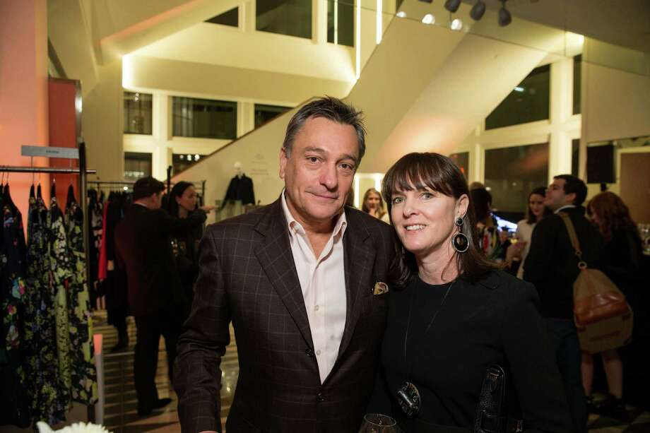 Paul Weaver, and Allison Speer at Barneys New York in San Francisco to honor artist Leo Villareal and The Bay Lights on November 7, 2013. Photo: Drew Altizer Photography/SFWIRE, Drew Altizer Photography / ©2013 By Drew Altizer all rights reserved