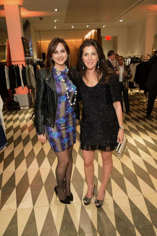 Bita Daryabari and Sloan Barnett at Barneys New York in San Francisco to honor artist Leo Villareal and The Bay Lights on November 7, 2013. Photo: Drew Altizer Photography/SFWIRE, Drew Altizer Photography / ©2013 By Drew Altizer all rights reserved