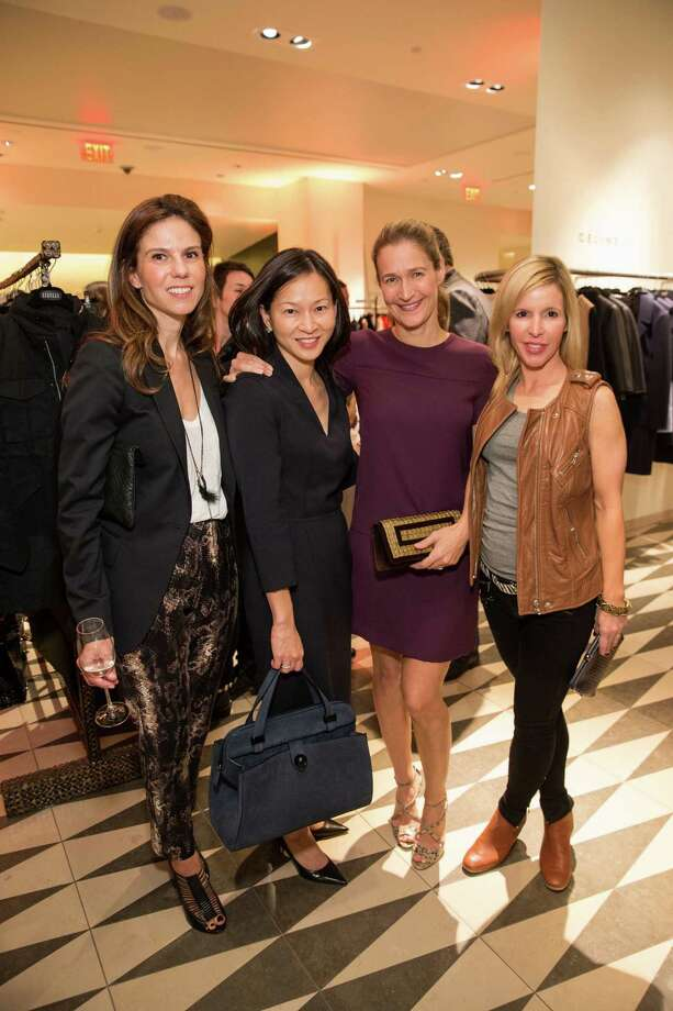Andrea Zola, Lily Beischer, Nina Stanford and Lana Adair at Barneys New York in San Francisco to honor artist Leo Villareal and The Bay Lights on November 7, 2013. Photo: Drew Altizer Photography/SFWIRE, Drew Altizer Photography / ©2013 By Drew Altizer all rights reserved