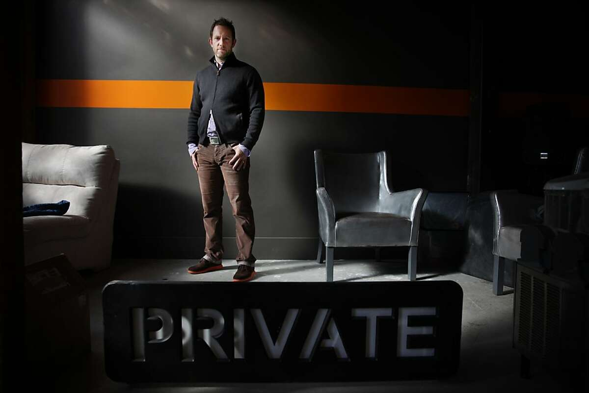 Ethan Oberman, CEO of SpiderOak, is seen at the company's headquarters on Friday, November 8, 2013 in San Francisco, Calif.