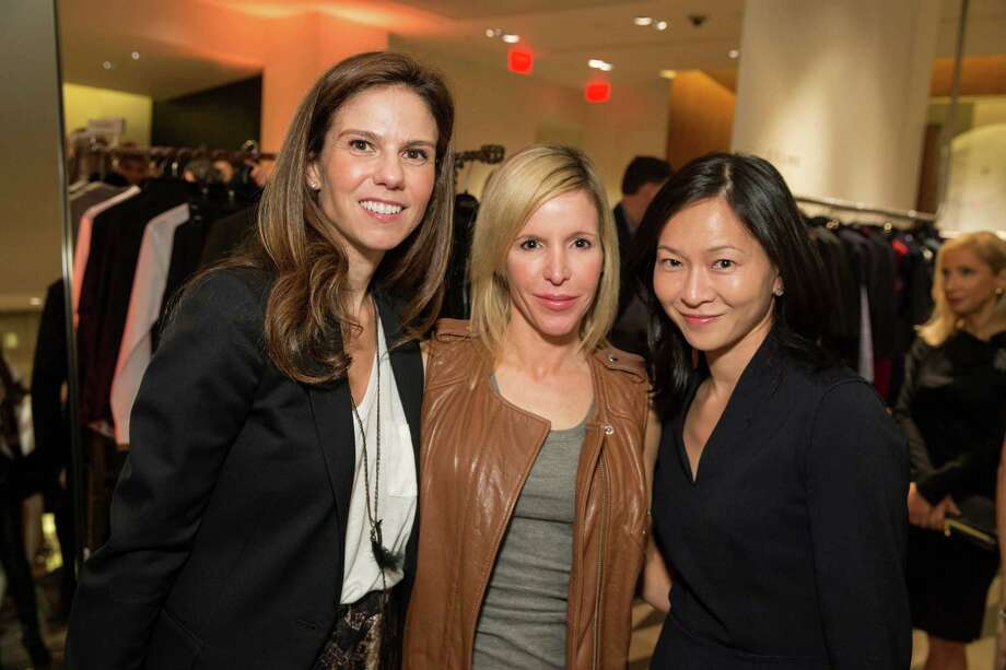 Andrea Zola, Lana Adair and Lily Beischer at Barneys New York in San Francisco to honor artist Leo Villareal and The Bay Lights on November 7, 2013. Photo: Drew Altizer Photography/SFWIRE, Drew Altizer Photography / ©2013 by Drew Altizer, all rights reserved