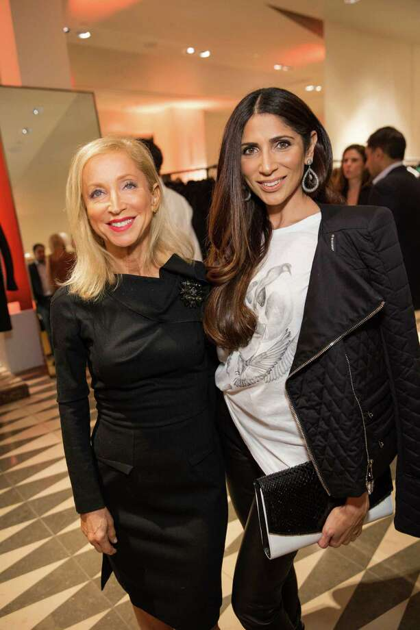 Shelley Gordon and Sobia Shaikh at Barneys New York in San Francisco to honor artist Leo Villareal and The Bay Lights on November 7, 2013. Photo: Drew Altizer Photography/SFWIRE, Drew Altizer Photography / ©2013 by Drew Altizer, all rights reserved
