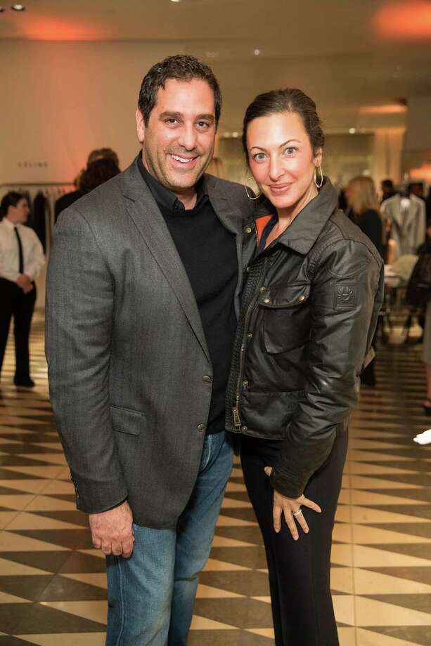 Moise Cohen and Deborah Cohen at Barneys New York in San Francisco to honor artist Leo Villareal and The Bay Lights on November 7, 2013. Photo: Drew Altizer Photography/SFWIRE, Drew Altizer Photography / ©2013 by Drew Altizer, all rights reserved