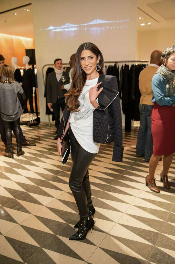 Sobia Shaikh at Barneys New York in San Francisco to honor artist Leo Villareal and The Bay Lights on November 7, 2013. Photo: Drew Altizer Photography/SFWIRE, Drew Altizer Photography / ©2013 by Drew Altizer, all rights reserved