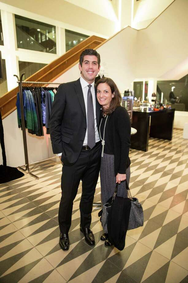 Thomas Camplin and Marisa Camplin at Barneys New York in San Francisco to honor artist Leo Villareal and The Bay Lights on November 7, 2013. Photo: Drew Altizer Photography/SFWIRE, Drew Altizer Photography / ©2013 by Drew Altizer, all rights reserved