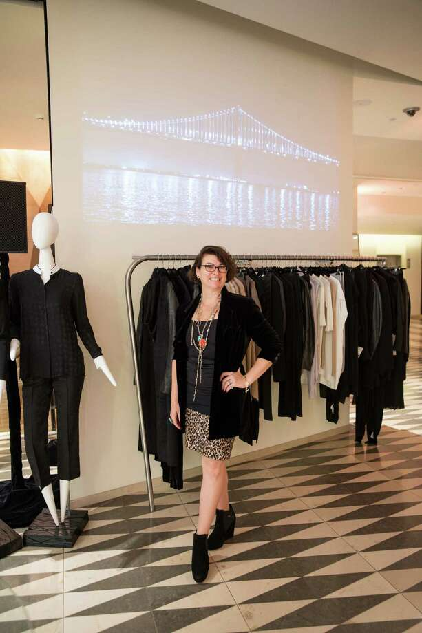 Amy Critchett at Barneys New York in San Francisco to honor artist Leo Villareal and The Bay Lights on November 7, 2013. Photo: Drew Altizer Photography/SFWIRE, Drew Altizer Photography / ©2013 by Drew Altizer, all rights reserved