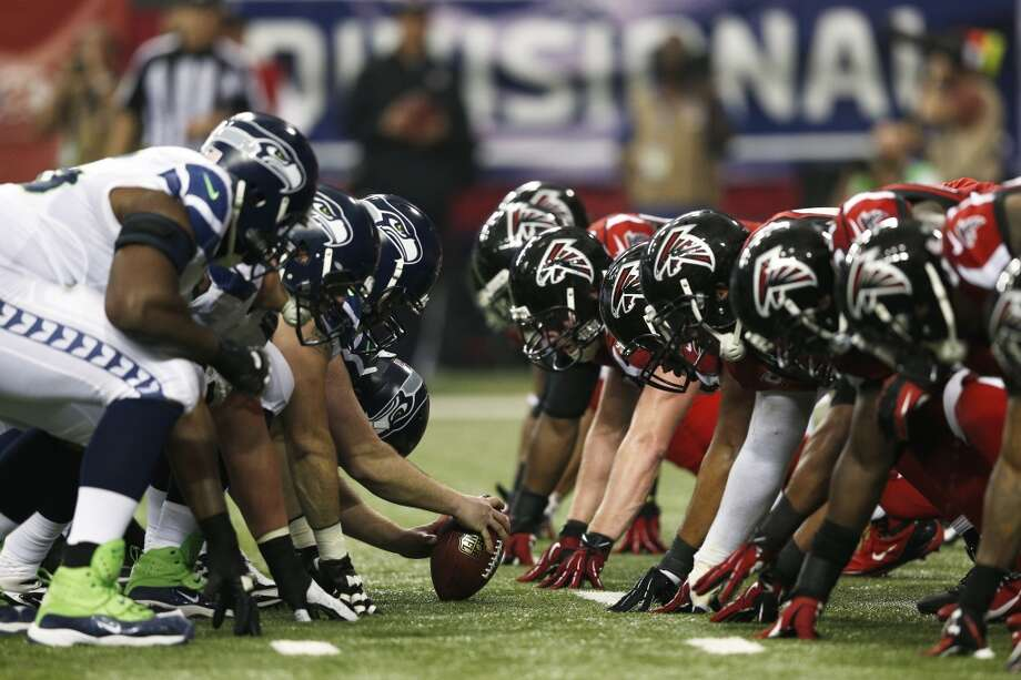 Five things to watch: Seattle Seahawks (8-1) at Atlanta Falcons (2-6) Sunday, Nov. 10 | 10 a.m. PST | Georgia Dome, Atlanta | TV: Fox  The Seahawks remain the best team in the NFC with a record of 8-1, and still are many analysts' favorite to represent the conference in the Super Bowl. But here in Week 10 of the NFL season, they seem to be right on the brink. Seattle recently has had a knack for playing down to the competition. A narrow win over the Titans on Oct. 13 raised some eyebrows, yet Seattle's subpar performances the past two weeks against supposedly inferior teams -- the Rams and the Buccaneers -- have Seahawks fans very worried about their team's chances down the stretch.  This Sunday, the Hawks travel to Atlanta for a rematch with the Falcons. Still fresh on the Seahawks' minds is Seattle's heartbreaking loss at the Georgia Dome in last season's divisional playoffs, when the Hawks surged from 20 points down to take a narrow lead with 34 seconds to go -- only to have their NFC Championship Game hopes dashed by a last-second field goal. Since then, the Seahawks have continued to soar while the Falcons have taken a turn for the worse. Atlanta is 2-6 and comes into Sunday's game on a two-game losing streak; their only wins this season have come against lowly St. Louis and Tampa Bay.  For Seattle, Sunday's matchup isn't a gimme by any means. In fact, it could easily be the seemingly inevitable game in which the Seahawks' recent struggles and mistakes finally catch up to them. While the Hawks are favored by most Las Vegas bookies to win by five points, many Seattle fans see the Falcons game as a pick-'em -- with these Seahawks, who knows what will happen anymore. Regardless, here are our five key things to watch in Sunday's game in Atlanta. Photo: Joe Robbins, Getty Images