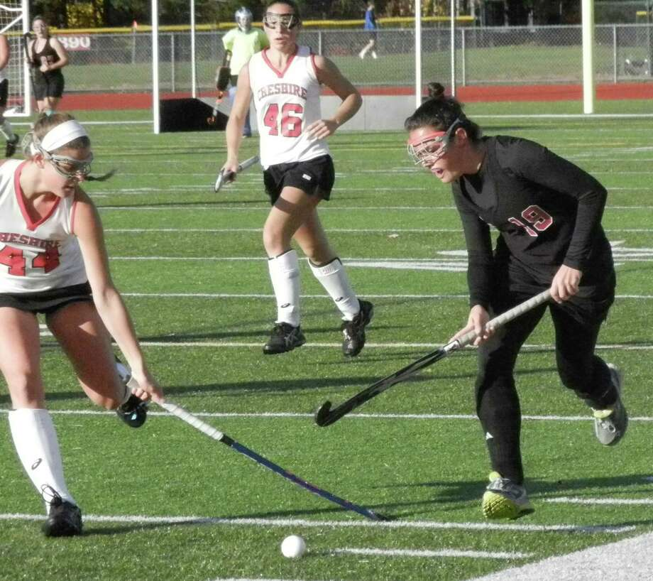 Cheshire knocks Warde out of Class L field hockey ...