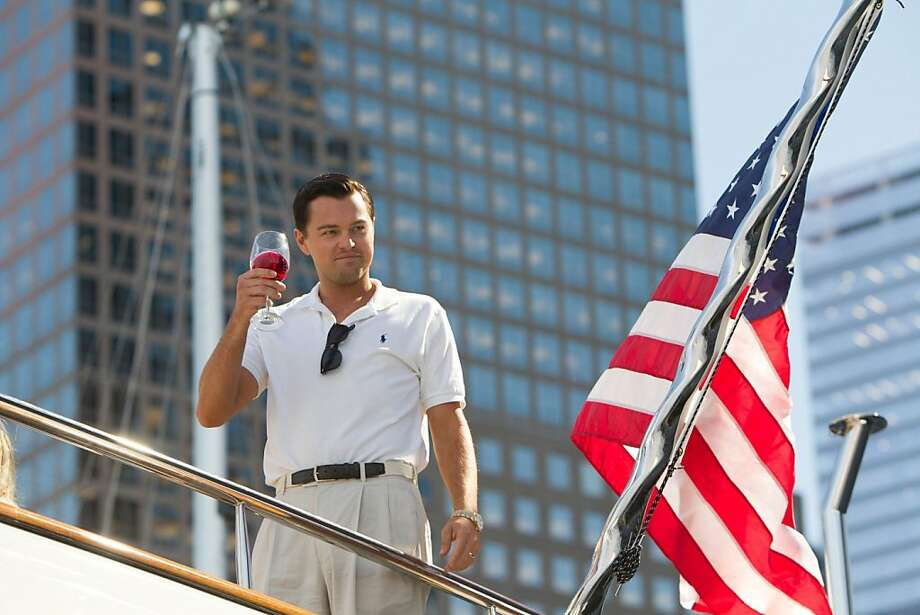 "Best Actor in a motion picture, musical or comedyLeonardo Di Caprio in ""The Wolf of Wall Street"" Photo: Paramount Pictures"