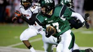 Friday's football game against Stamford High School in Norwalk, Conn., on November 8, 2013.