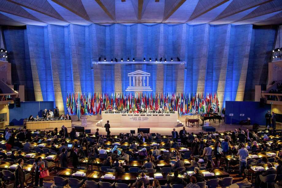 The United States lost its vote at the U.N. Educational, Scientific and Cultural Organization (UNESCO) after Washington's decision in 2011 to cut funding stemming from giving Palestine member-state status. Photo: Benjamin Girette / Associated Press