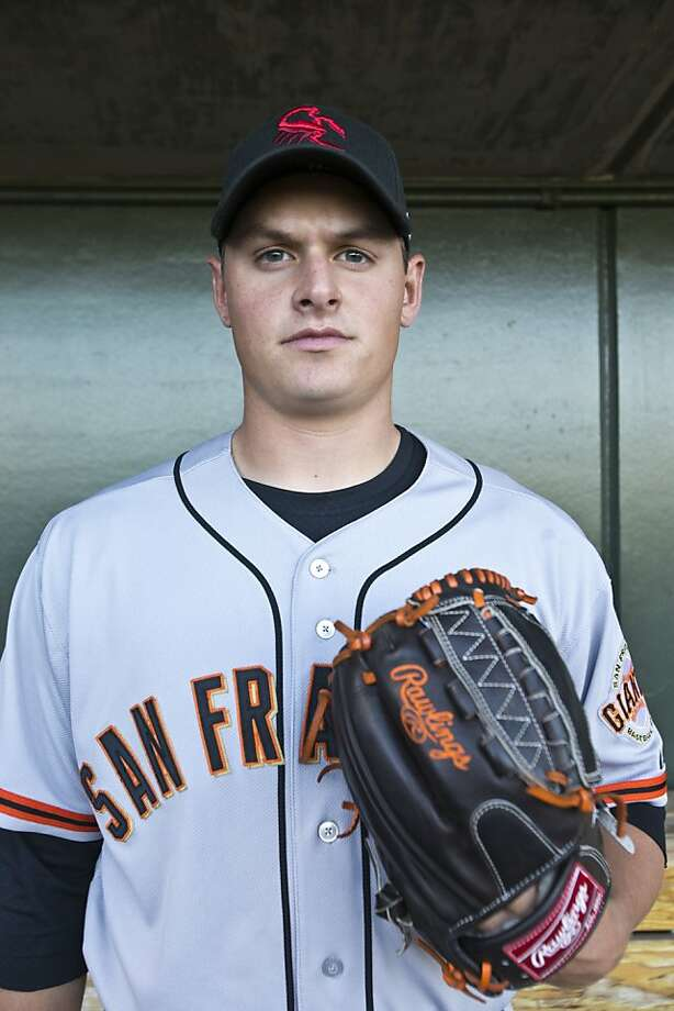 Kyle Crick, a 2011 draft pick who pitched well at Class A San Jose this year, has drawn favorable comparisons to three-time All-Star Matt Cain. Photo: Nick Oza, Special To The Chronicle