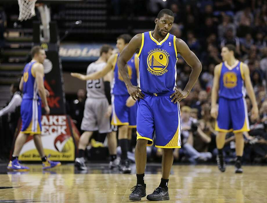 Toney Douglas, who had 21 points, reacts after a Warriors turnover in the second half. Photo: Eric Gay, Associated Press
