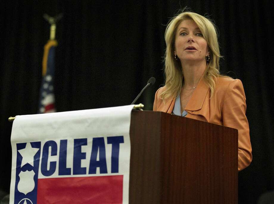 Texas Sen. Wendy Davis, D-Fort Worth, will be on the Democratic ticket for governor. Photo: File Photo, San Antonio Express-News