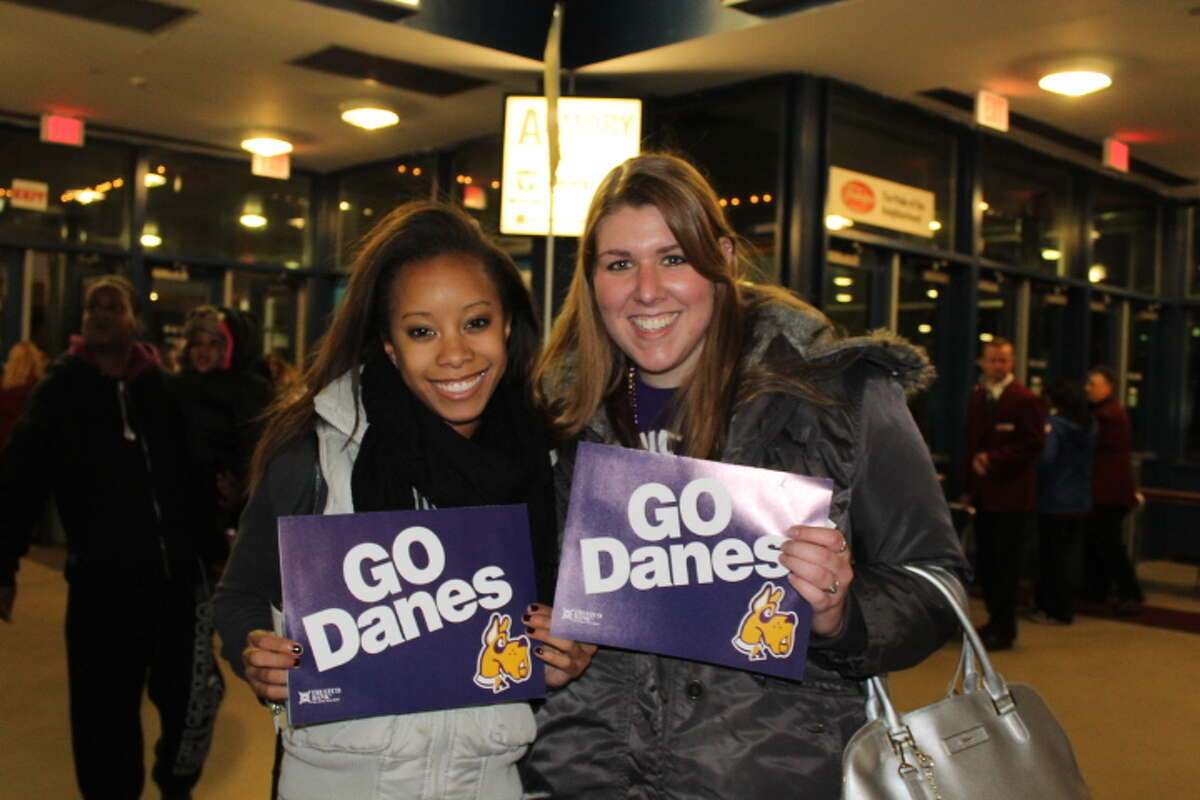 Were you Seen at the annual UAlbany vs. Siena basketball game at the Times Union Center in Albany on Friday, Nov. 8, 2013?