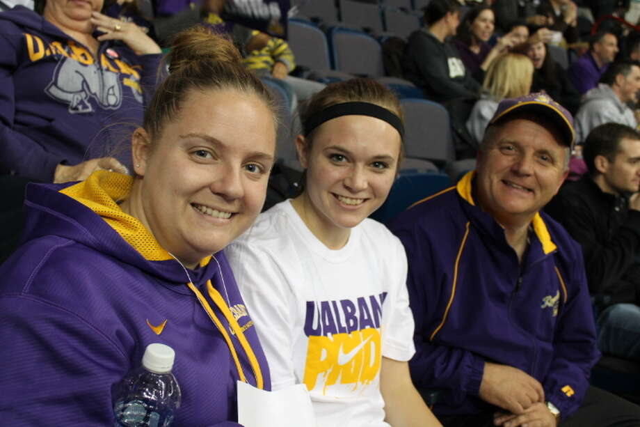 Were you Seen at the annual UAlbany vs. Siena basketball game at the Times Union Center in Albany on Friday, Nov. 8, 2013? Photo: Amber Heiserman