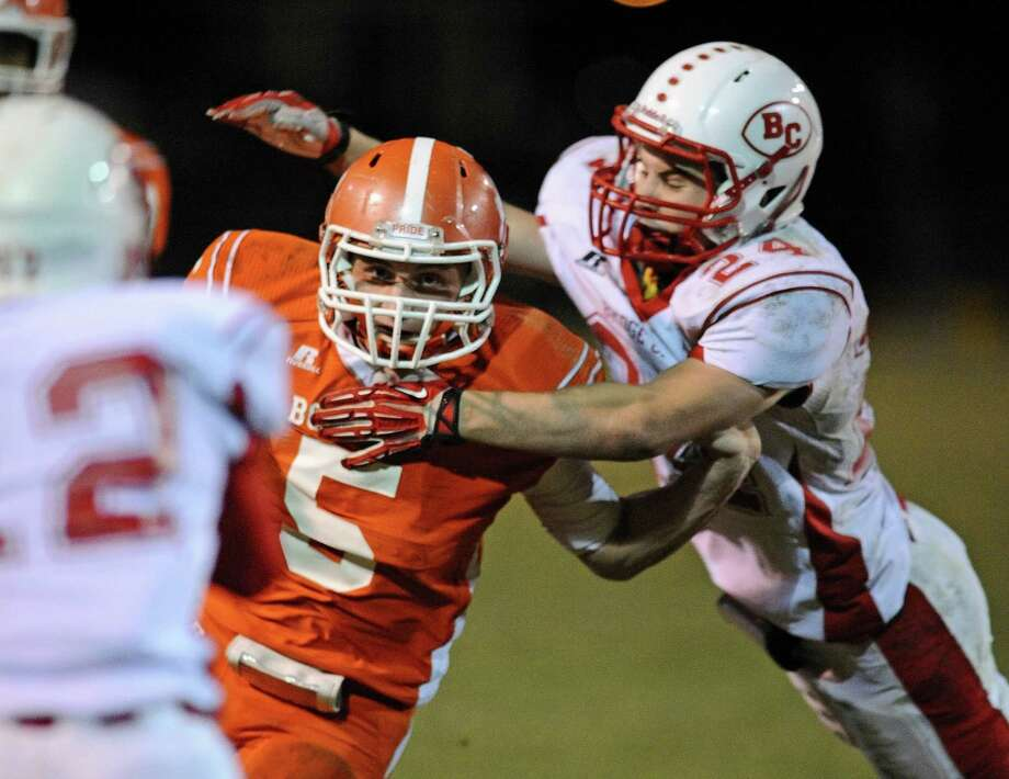 Friday night action between Orangefield and Bridge City