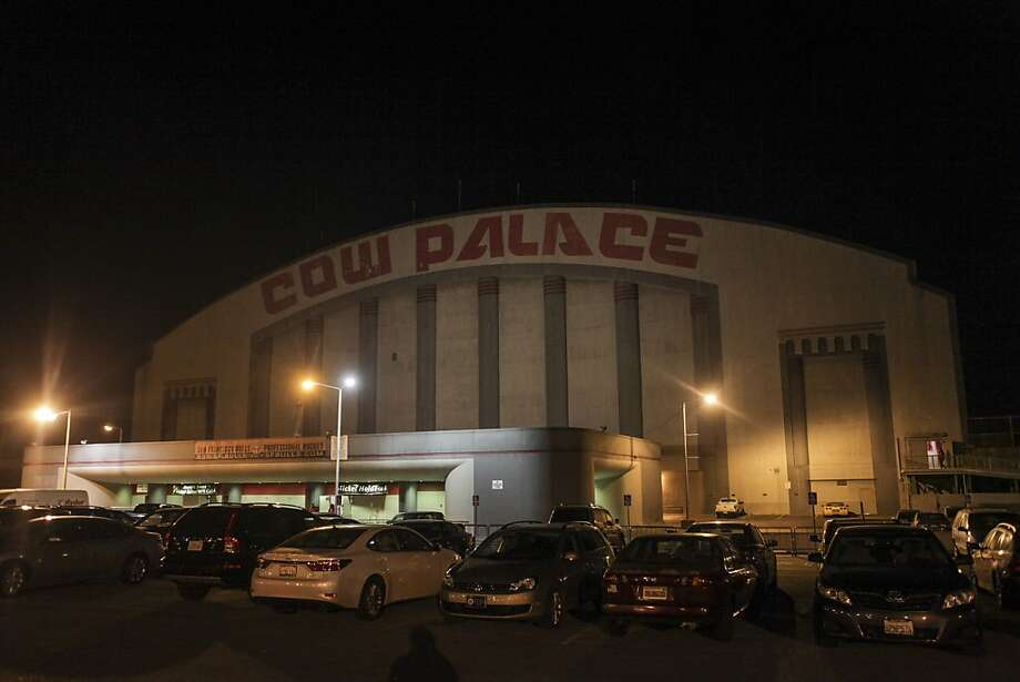 Cow Palace, the home of the San Francisco Bulls, on opening night match against the Bakersfield Condors at Cow Palace in San Francisco on November 8th 2013. Photo: Sam Wolson, Special To The Chronicle