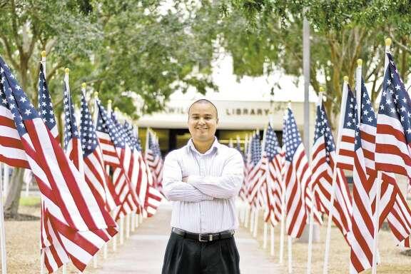 San Jacinto College Student Alexander Reyes