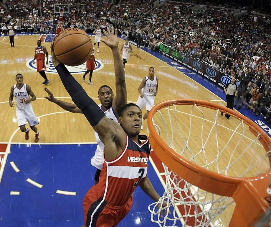 Washington Wizards second-year guard Bradley Beal is among the up-and-coming young players offering hope to fans of several recently downtrodden NBA teams. Photo: Matt Slocum, Associated Press