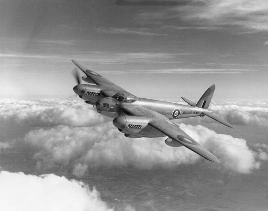 A Royal Air Force De Havilland Mosquito. Photo: Royal Air Force Museum, Getty Images / Royal Air Force Museum