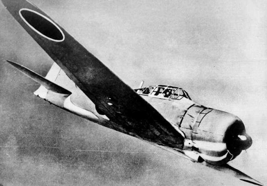 The Japanese fighter, Mitsubishi Zero. Photo: Roger Viollet, Getty Images / © Roger-Viollet