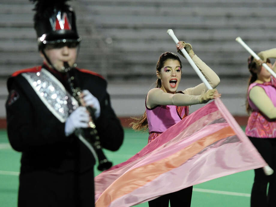 The Musical Arts Conference (MAC) holds its Fall Marching Band Championships at Central High School's Kennedy Stadium in Bridgeport, Conn. on Saturday November 9, 2013.The competition features marching bands from all over Connecticut including several from Fairfield County. Photo: Christian Abraham / Connecticut Post
