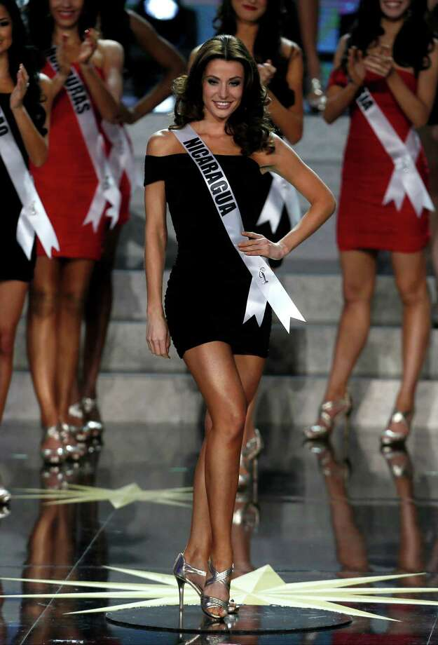 Miss Nicaragua Nastassja Bolivar participates in the 2013 Miss Universe pageant in Moscow, Russia, on Saturday, Nov. 9, 2013. Photo: Pavel Golovkin, AP / AP