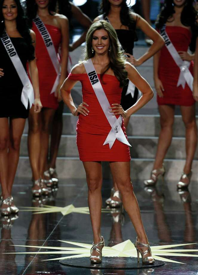 Miss USA Erin Brady participates in the 2013 Miss Universe pageant in Moscow, Russia, on Saturday, Nov. 9, 2013. Photo: Pavel Golovkin, AP / AP
