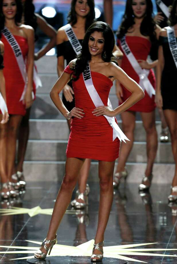 Miss Spain Patricia Yurena Rodriguez participates in the 2013 Miss Universe pageant in Moscow, Russia, on Saturday, Nov. 9, 2013. Photo: Pavel Golovkin, AP / AP