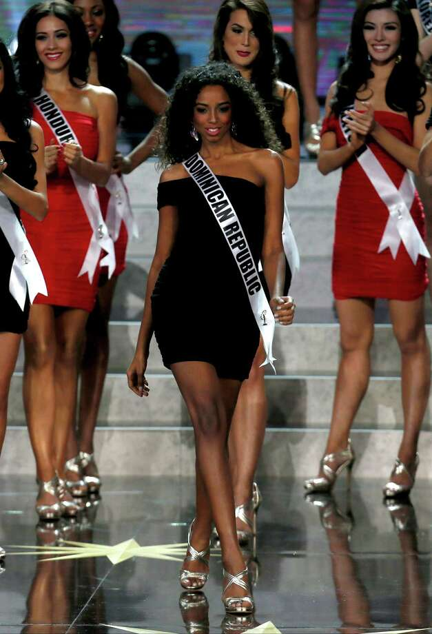 Miss Dominican Republic Yaritza Reyes participates in the 2013 Miss Universe pageant in Moscow, Russia, on Saturday, Nov. 9, 2013. Photo: Pavel Golovkin, AP / AP