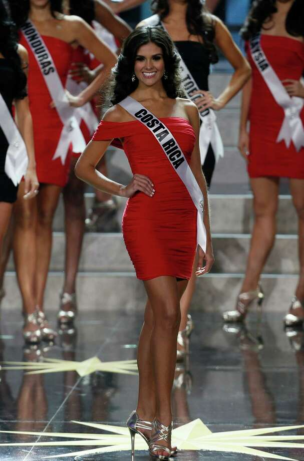 Miss Costa Rica Fabiana Granados participates in the 2013 Miss Universe pageant in Moscow, Russia, on Saturday, Nov. 9, 2013. Photo: Pavel Golovkin, AP / AP