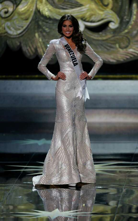Miss Venezuela Gabriela Isler participates in the 2013 Miss Universe pageant in Moscow, Russia, on Saturday, Nov. 9, 2013. Gabriela Isler won the Miss Universe 2013 title. Photo: Pavel Golovkin, AP / AP2013