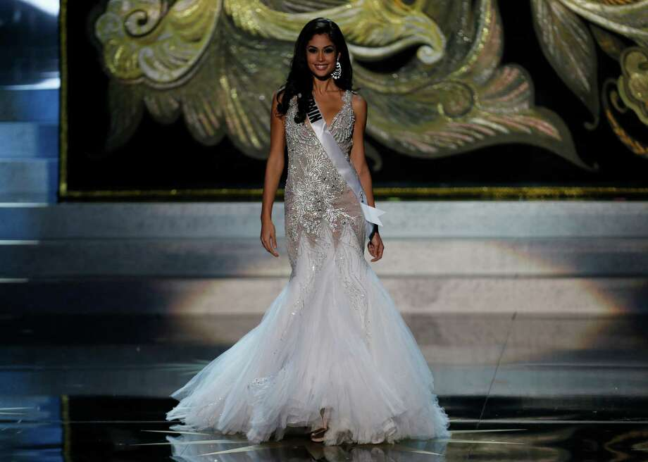 Miss Spain Patricia Yurena Rodriguez participates in the 2013 Miss Universe pageant in Moscow, Russia, Saturday, Nov. 9, 2013. Photo: Pavel Golovkin, AP / AP