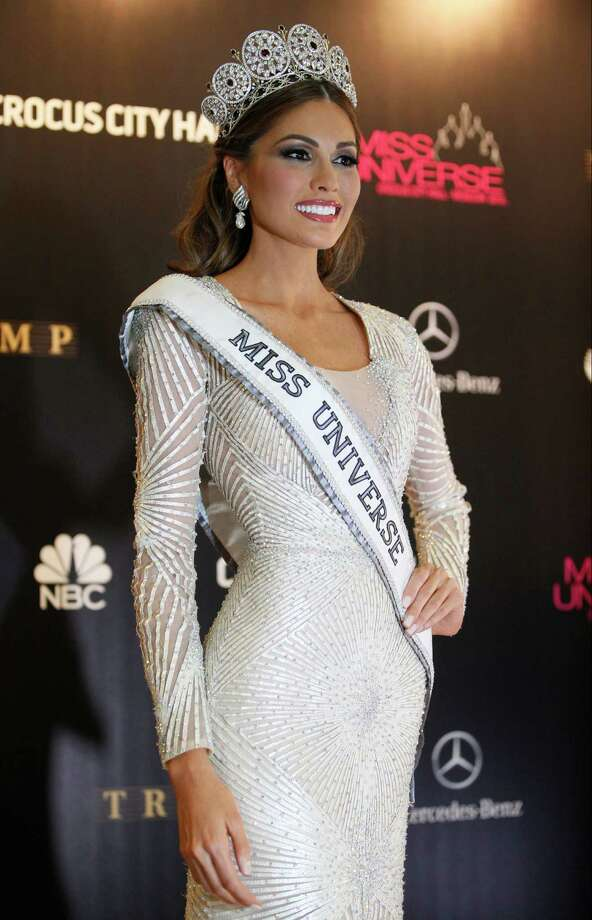 Miss Universe 2013 Gabriela Isler from Venezuela poses with her crown after winning the 2013 Miss Universe pageant in Moscow, Russia, Saturday, Nov. 9, 2013. Photo: Pavel Golovkin, AP / AP2013