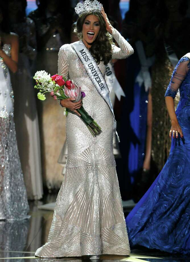 Miss Universe 2013 Gabriela Isler from Venezuela adjusts her crown after winning the 2013 Miss Universe pageant in Moscow, Russia, Saturday, Nov. 9, 2013. Photo: Pavel Golovkin, AP / AP