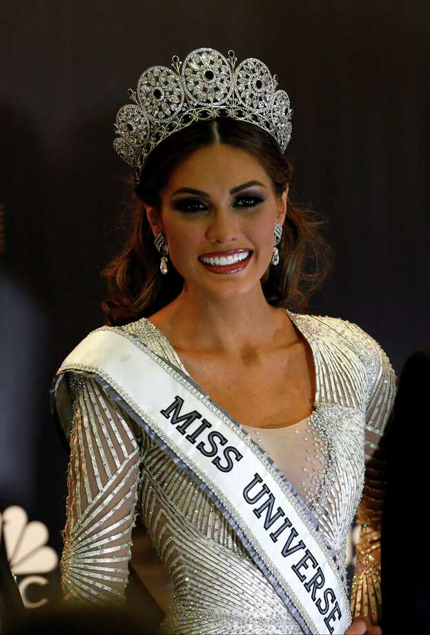 Miss Universe 2013 Gabriela Isler from Venezuela smiles during the media conference after winning the 2013 Miss Universe pageant in Moscow, Russia, Sunday, Nov. 10, 2013. Photo: Ivan Sekretarev, AP / AP