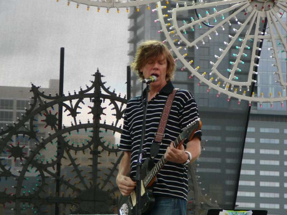 "Thurston Moore plays ""Burroughs"" with his post-Sonic Youth band Chelsea Light Moving. Photo: Jim Kiest"