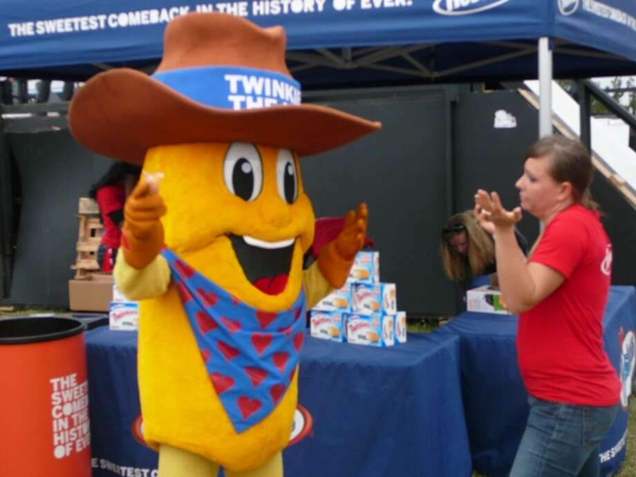 Twinkie the Kid was one of the few at Fun Fun Fun Fest without a beard, tattoo, piercing, backpack or e-cigarette